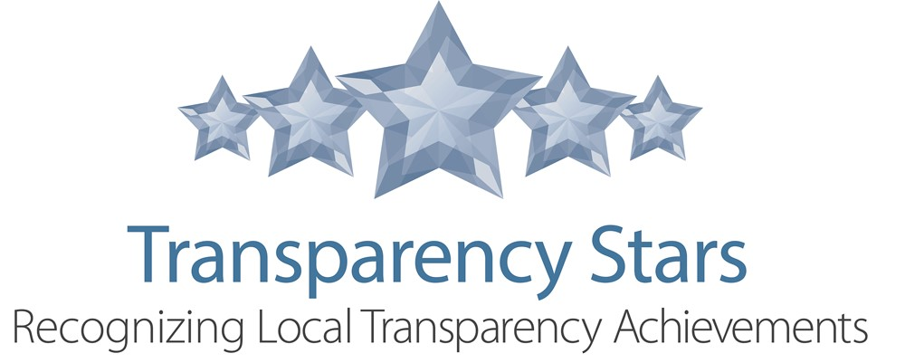 transparency stars recognizing local transparency achievements