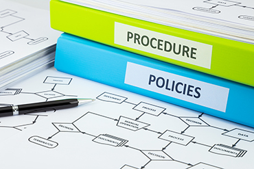 policies and procedures icon