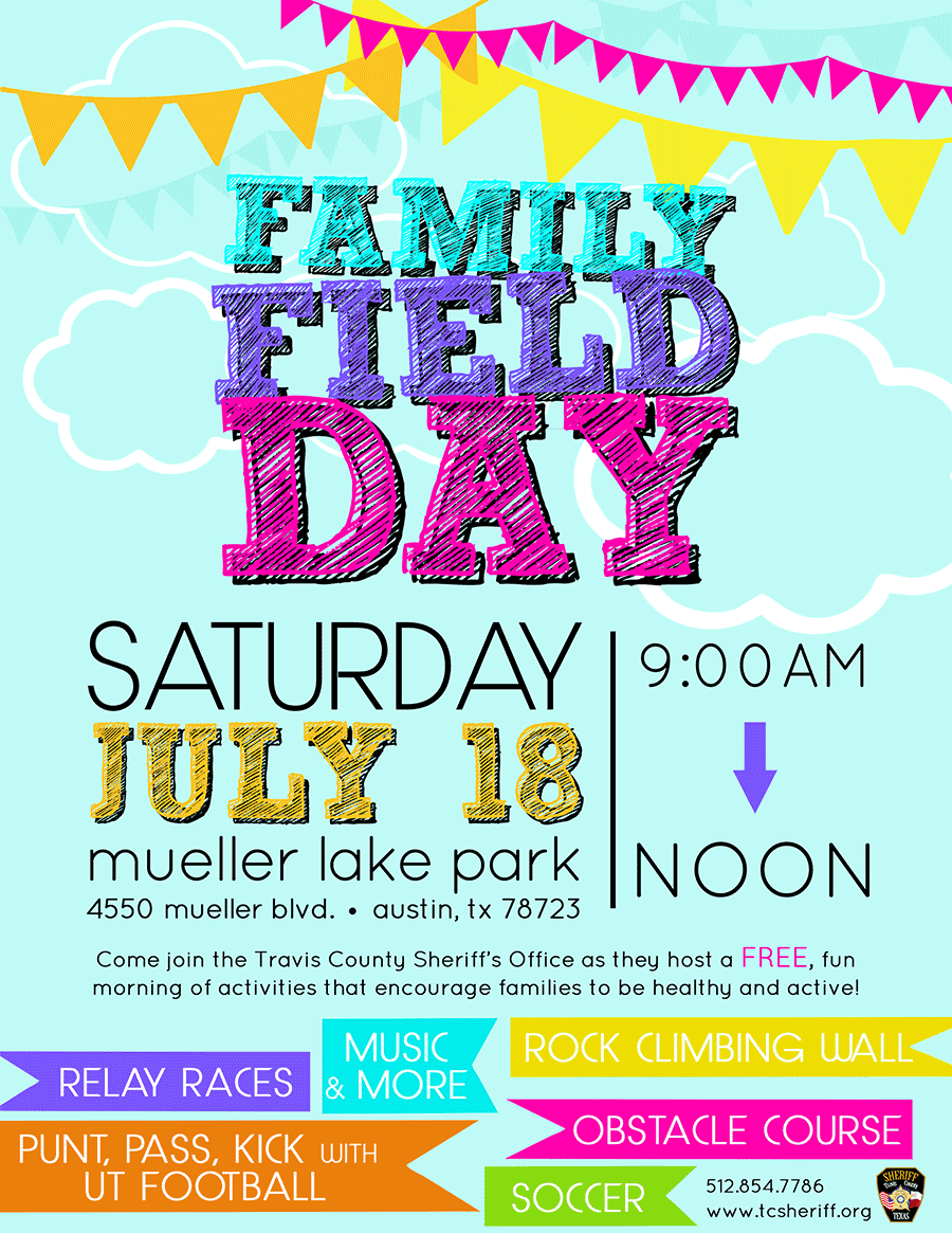 family field day flyer