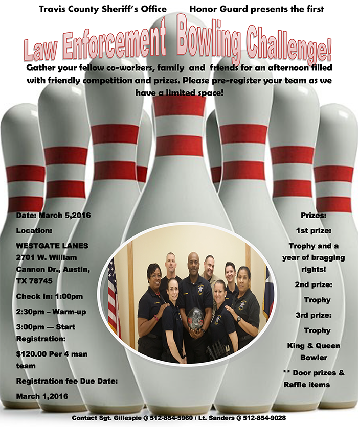 HG Bowling Challenge Flyer