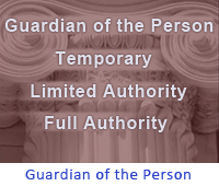 guardianship of person