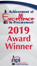 achievement of excellence in procurement 2019 award winner