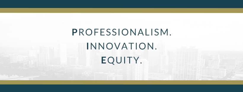 professionalism, innovation, equity